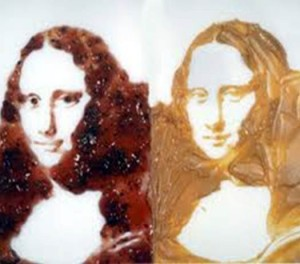 Mona Lisa-Peanut Butter and Jelly