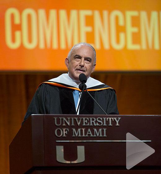 Gustavo Cisneros UM Commencement 2017