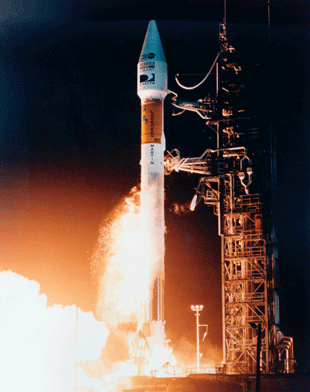 directv satellite launch1995