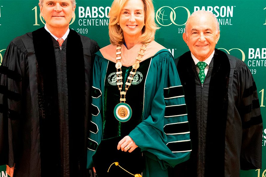 Babson College honors Gustavo Cisneros with honoris causa degree in law